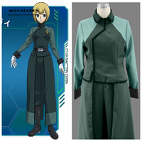 2016 Top Selling Mobile Suit Gundam 00 Anime A Laws Female Uniform Cosplay Costume Anime Cosplay