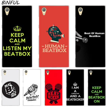 Human Beatbox Clear Cover Case for Sony Xperia Z3 Z5 Premium M4 Aqua M5 X XA XA1 C4 C5 E4 E5 XZ XZ2 Compact Plus image