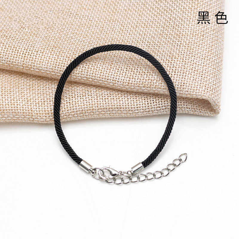 2019 venda quente 1pc moda red thread string bracelet lucky vermelho preto artesanal corda pulseira para mulheres homem jóias amante casal