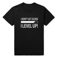 New I Don T Get Older I Level Up Funny Birthday Nerd Gamer Holiday T Shirt