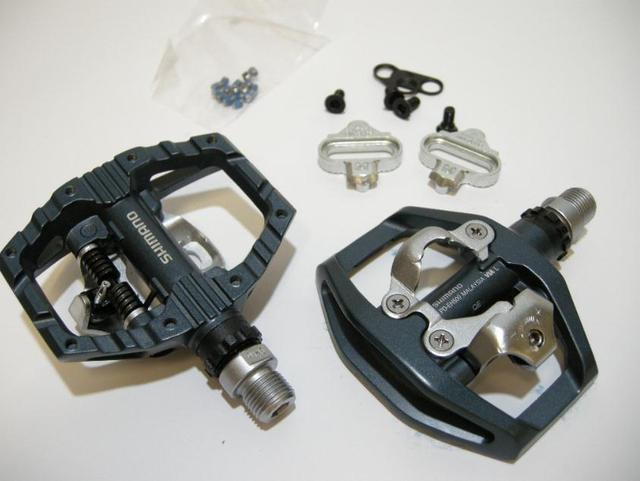 8777639c270 SHIMANO pd-EH500 EH500 pedal cheat MTB bicycle bike pedals SPD cheats