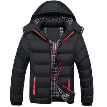 2019 New Men Winter Jacket Coats Quality Cotton Padded Hooded Wadded Thick Warm Outerwear Casual Male Parkas Casaco Masculino