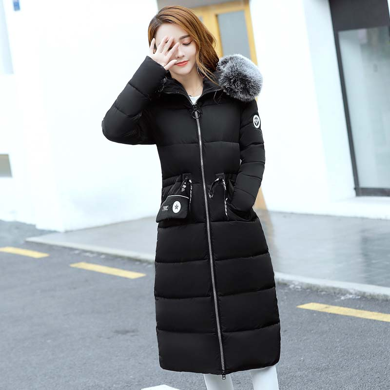 2017 Real Full Zipper Broadcloth Solid Womens Winter Jackets And Coats Winter New Women's Cotton Coat In The Long Hooded Jacket corporate real estate management in tanzania