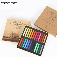EZONE 12 24 36 48 Colors Painting Crayons Soft Pastel Art Drawing For Students Stationery Painting