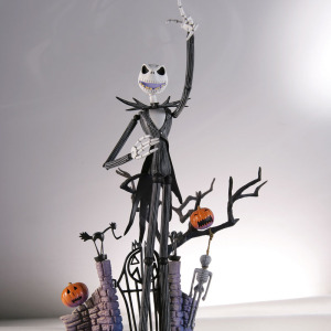 Image 3 - SCI FI Revoltech Series NO.005 The Nightmare Before Christmas Jack Skellington PVC Action Figure Collectible Model Toy