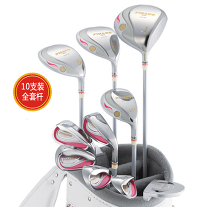 New Women Compelete set of clubs Maruman Figaro Golf clubs Driver+fairway wood+irons+Putter Graphite Golf shaft free shipping цена