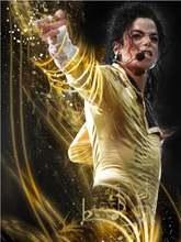Полностью квадратная дрель 5d diy Алмазная вышивка Майкл Джексон
