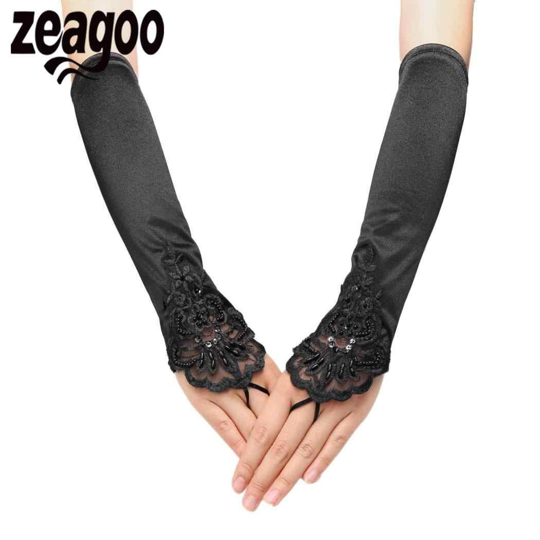 38e0cac98e6 Detail Feedback Questions about None Lace Fingerless 1920s Sequins ...