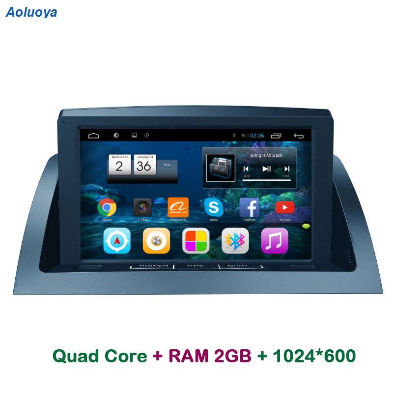 Aoluoya RAM 2g Android Rádio Do Carro DVD player GPS Para Mercedes Benz C200 W204 2005 2006 2007-2012 navegação de áudio multimídia WI-FI