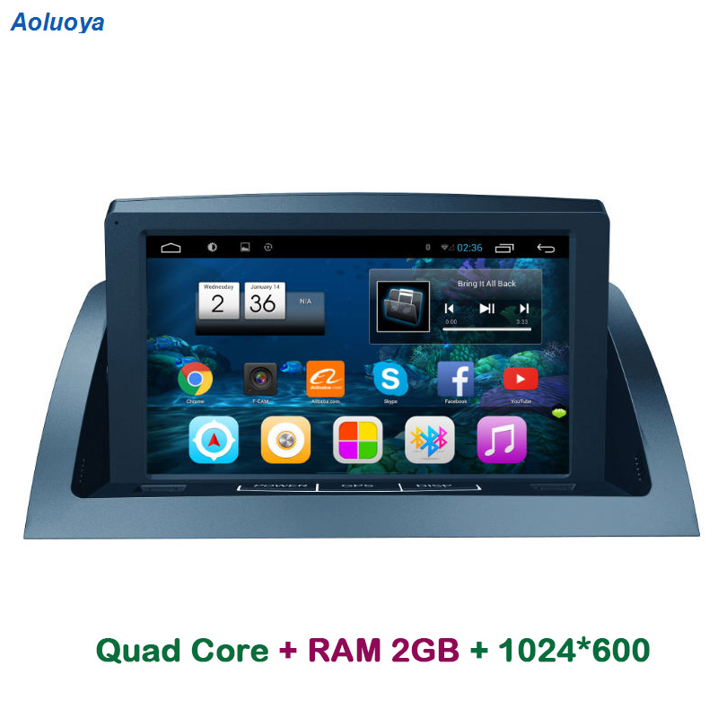 Aoluoya RAM 2g Android Autoradio DVD GPS player Per Mercedes Benz C200 W204 2005 2006 2007-2012 audio di Navigazione multimediale WIFI