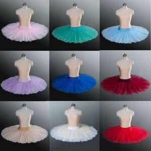 Image 3 - Ballet Tutu Professionele Repetitie Tutu Platter Ballet Tutu S Oefenen Half Ballet Tutu Pannenkoek Half Tutu S Voor Meisjes