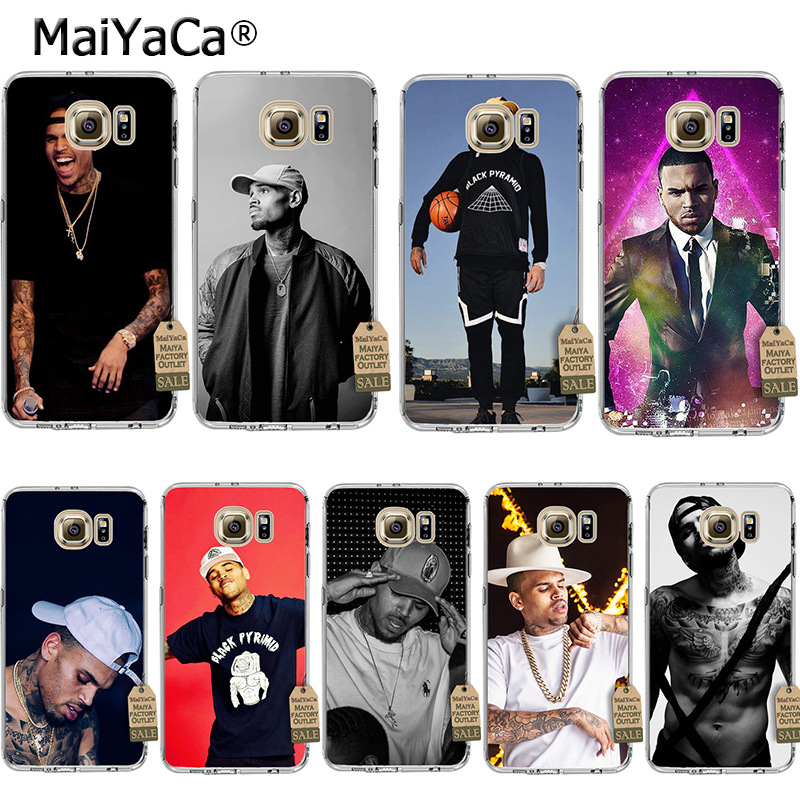 MaiYaCa Chris Brown Breezy Coque Shell Phone Case for Samsung S5 S6 S7 Edge S8 Plus S6 Edge Plus S3 S4 ...