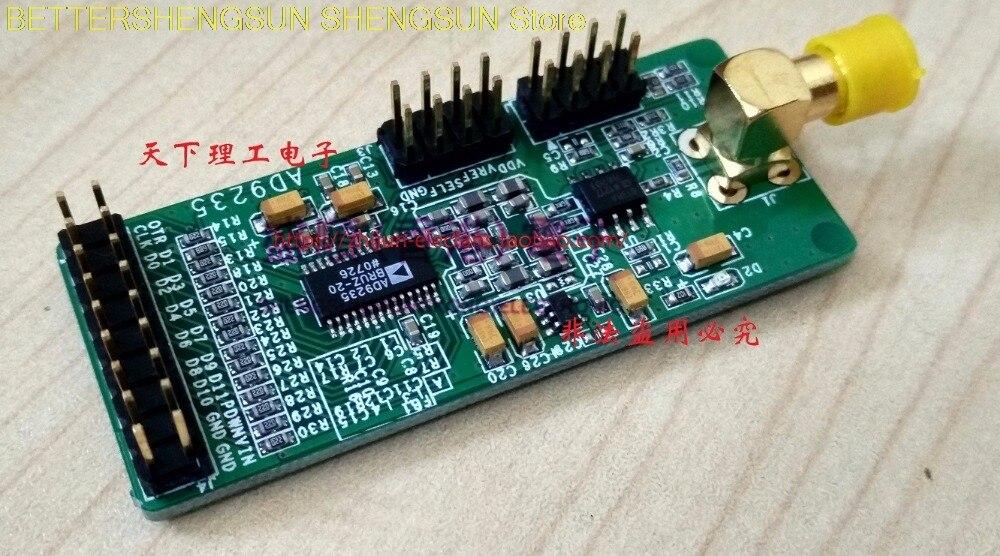 Convertisseur analogique-numérique ADC parallèle haute vitesse 12 bits, module d'échantillonnage AD9235 AD, carte d'acquisition de données 65 Msps