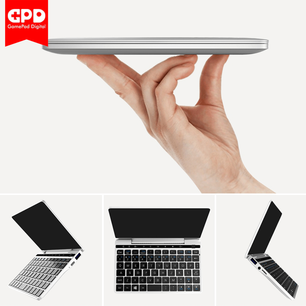 GPD Poche 2 Pocket2 7 Pouces En Aluminium Mini-Ordinateur Portable Tablet UMPC Windows 10 Système CPU M3-7y30 8 gb/ 128 gb Portable IPS 2.4g & 5g WiFi