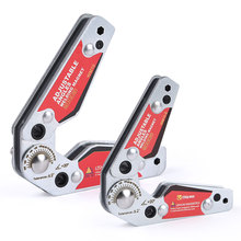2pcs Welding Magnet Set (20-200)° Adjustable Angles Magnetic Clamp Holder Small & Medium