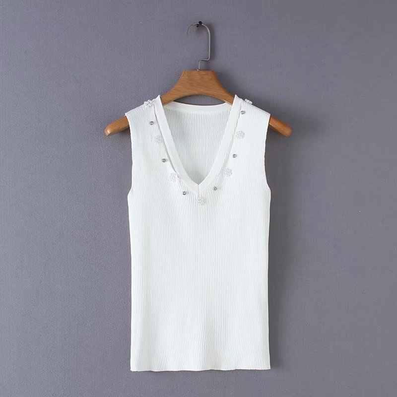 Hot bán YD25-8731 Châu Âu và Mỹ trang sức thời trang trang trí dệt kim áo len