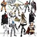 КСЗ Star Wars Шторм Troope Джанго Phasma Jyn Эовсо K-2SO Дарт Вейдер Генерал Гривус Фигура игрушка строительные блоки ИГРУШКИ