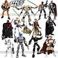 KSZ Star Wars Storm Troope Jango Phasma Jyn Erso K-2SO Darth Vader General Grievous Figura de juguete bloques de construcción de JUGUETES
