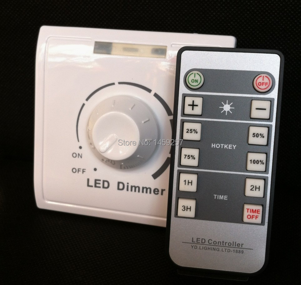 IR Dimmer Switch for Led lights and Halogen lamps infrared Remote ...
