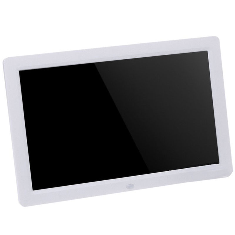Top Deals 12 TFT-LCD HD 1280 * 800 clock Digital Photo Frame MP3 MP4 Digital Movie Player with the Remote Desktop (white/black) free shipping dhl 15 hd 15inch tft lcd 1280 800 digital photo frame picture album clock mp3 mp4 movie ad player for menu sign page 2