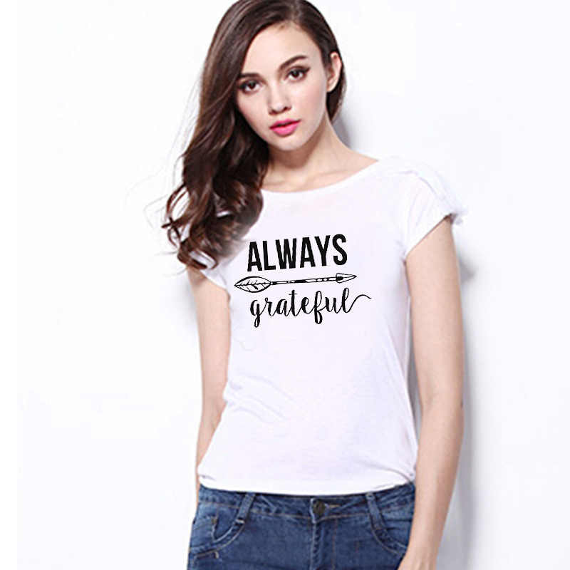 2019 Summer Casual Women's T-Shirt Thin Round Neck Short Sleeve Printed Letter Pattern Top blusas mujer