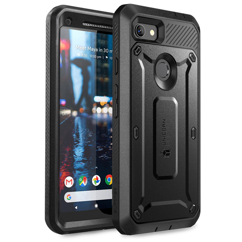 Image 2 - SUPCASE For Google Pixel 3a XL Case (2019) UB Pro Full Body Rugged Holster Protective Case Cover with Built in Screen ProtectorFitted Cases   -