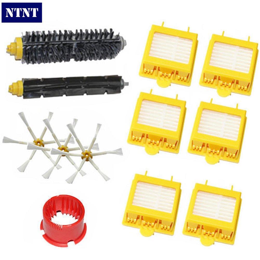 NTNT Free Post New Hepa Filter 6 armed Side Brush tool for iRobot Roomba 700 Series 760 770 780 цены онлайн