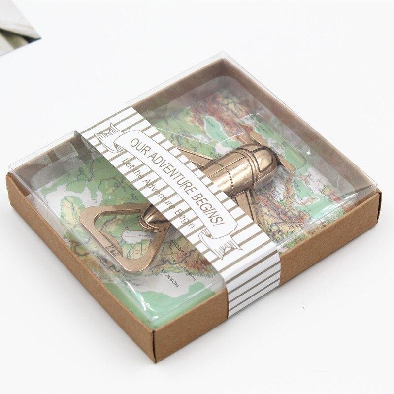 50 stücke Kreative Antike Opener Flugzeug Bier Flasche Opener Flugzeug Form Flasche Opener für Hochzeit Geschenk Party Küche Gadgets-in Öffner aus Heim und Garten bei  Gruppe 3