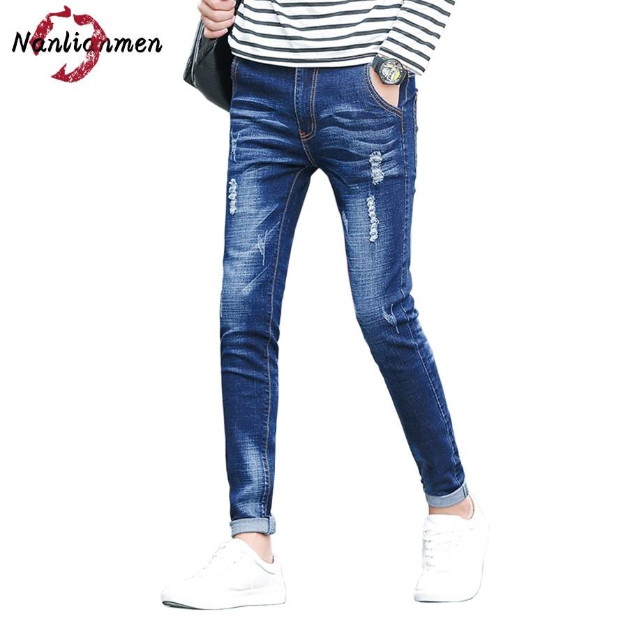 2017 Limited Zipper Fly Midweight Softener Slim Autumn New Jeans Men Denim Pants Casual Jean Homme Pantalon Vaquero Hombre Mens