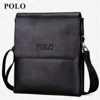 2016 New Special Offer Leather Men Messenger Bag Fashion Brand Men Business Crossbody Bag Brand POLO