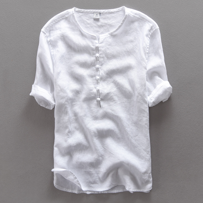 Online Buy Wholesale mens simple white shirts from China mens ...