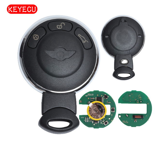 Aliexpress Keyecu Rechargeable Battery Remote Key Fob 3 On 868mhz Id46 For Bmw Mini Cooper 2007 2017 Fcc Id Iyzkeyr5602 From Reliable Ons