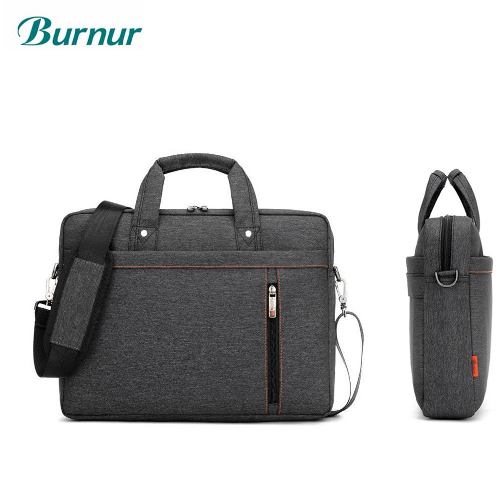 Luxury Airbag Scalable waterproof laptop bag of women 13.3 14 15 15.6 17 17.3 inch Shoulder portable Messenger men notebook bag