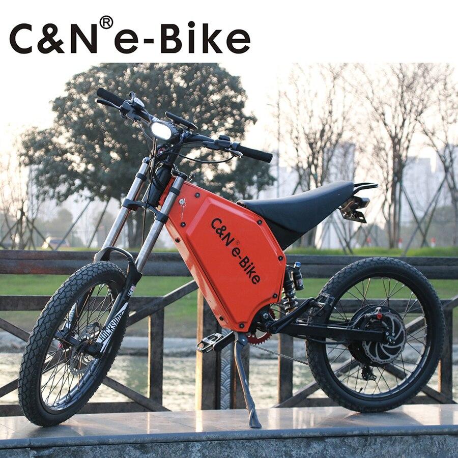 2017 Hot Selling Powerful 72v 5000w Electric Bike Electric font b Motorcycle b font Mountain Bike