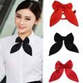 2015 New hot sale Fashion Women Girls Cute Party Adjustable Bow Neck Tie 4 Colors Drop Shipping