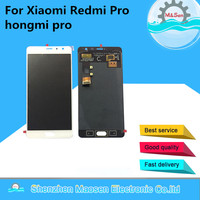 100 New LCD Display Screen Touch Digitizer For Xiaomi Redmi Pro Hongmi Pro Gold White Color