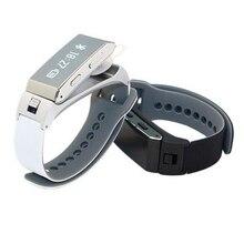 2016 HEIßER K2 Bluetooth Intelligente Braccialetto di Vigilanza 2 in 1 Cuffia Stereo Auricolare Armband Smartwatch con la Scatola