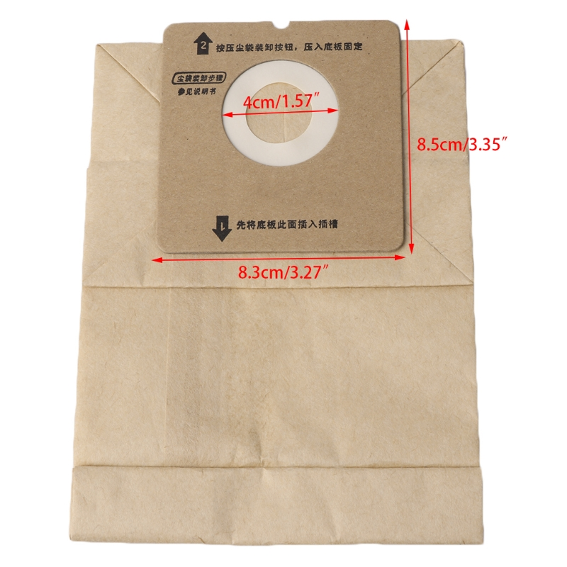 Universal Vacuum Cleaner Bags Paper Dust Bag Replace For Rowenta ZR0049/ZR0007 Mar28