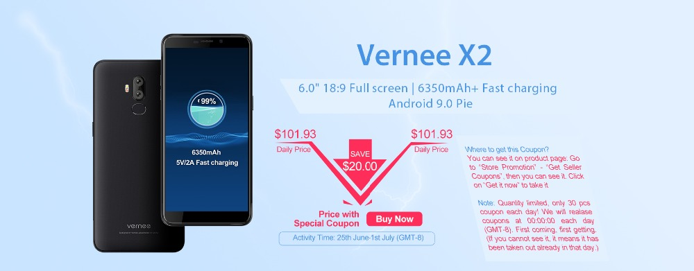 Vernee X2-0625-PC