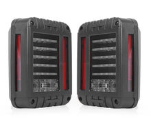 07-15 Jeep Wrangler LED Tail Lights Rear Brake Reverse Lamps 480LM JK US Model