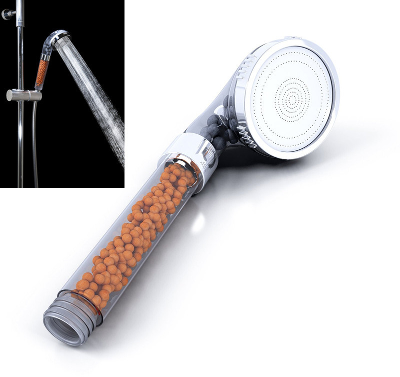 Exceptional Aliexpress.com : Buy Chlorine Filtration Shower Head For Dry Skin Hair Loss  1.45GPM Low Flow Yet High Pressure Water Saving Ionic Handheld Showerhead  From ...