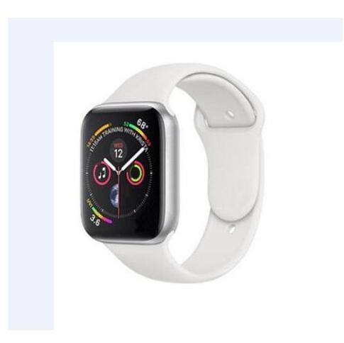Série 4 chargeur sans fil poignet Bluetooth 42mm montre intelligente téléphone horloge visages pour Iphone android Smartphones