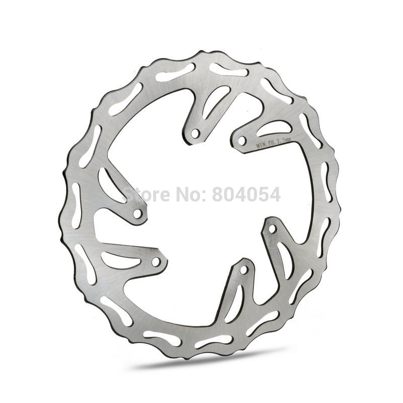 Motorcycle  Front Brake Disk Rotor For Honda CR125R/E CR250R/E 1995-2008 CR500R/E 1995-2001 motorcycle front and rear brake pads for honda cr125r cr250r cr500r cr 125 250 500 r 1987 2001