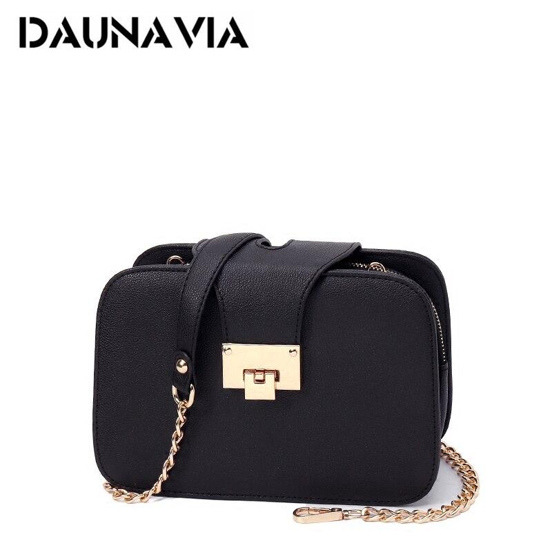 DAUNAVIA Shouler Bag Luxury Handbags Women Flap Bags Designer Women Leather Messenger Bag Crossbody Bags For Women High Quality