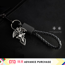 Keychain Pendant usb cable charger data line wire adapter charging for phone fast quick huawei iphone