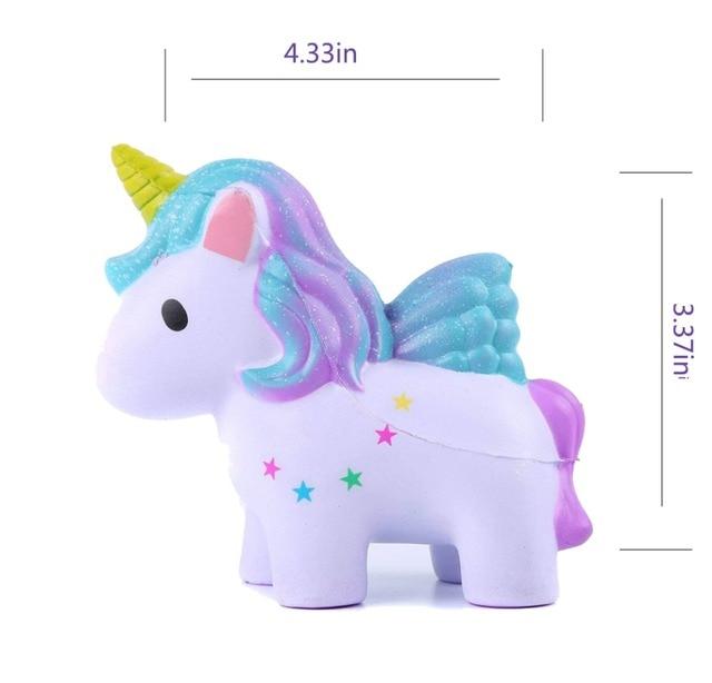 Kawaii Unicorn Donut Squishy Toy