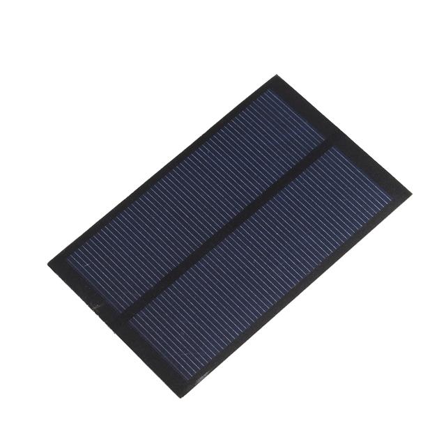 2pcs/Lot 5V 1.2W 240mA Solar Panel Cell DIY Sunpower Solar China Module DIY Solar System Cells Battery Charger #69410