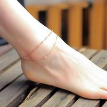 Japanese Heart Double Anklet