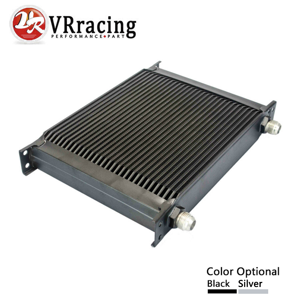VR RACING - 30 ROW AN-10AN UNIVERSAL ENGINE TRANSMISSION OIL COOLER VR7030 vr racing 16 row an 10an universal engine transmission oil cooler vr7016 2