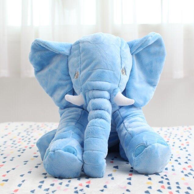 Elefante Travesseiro Crianças Travesseiro Sono Do Bebê macio Do Bebê Berço da Cama de Bebê Almofadas Almofada Do Assento Dobrável Crianças Boneca Crianças Brinquedo